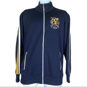 American Eagle Zip up Varsity Logo Track Jacket